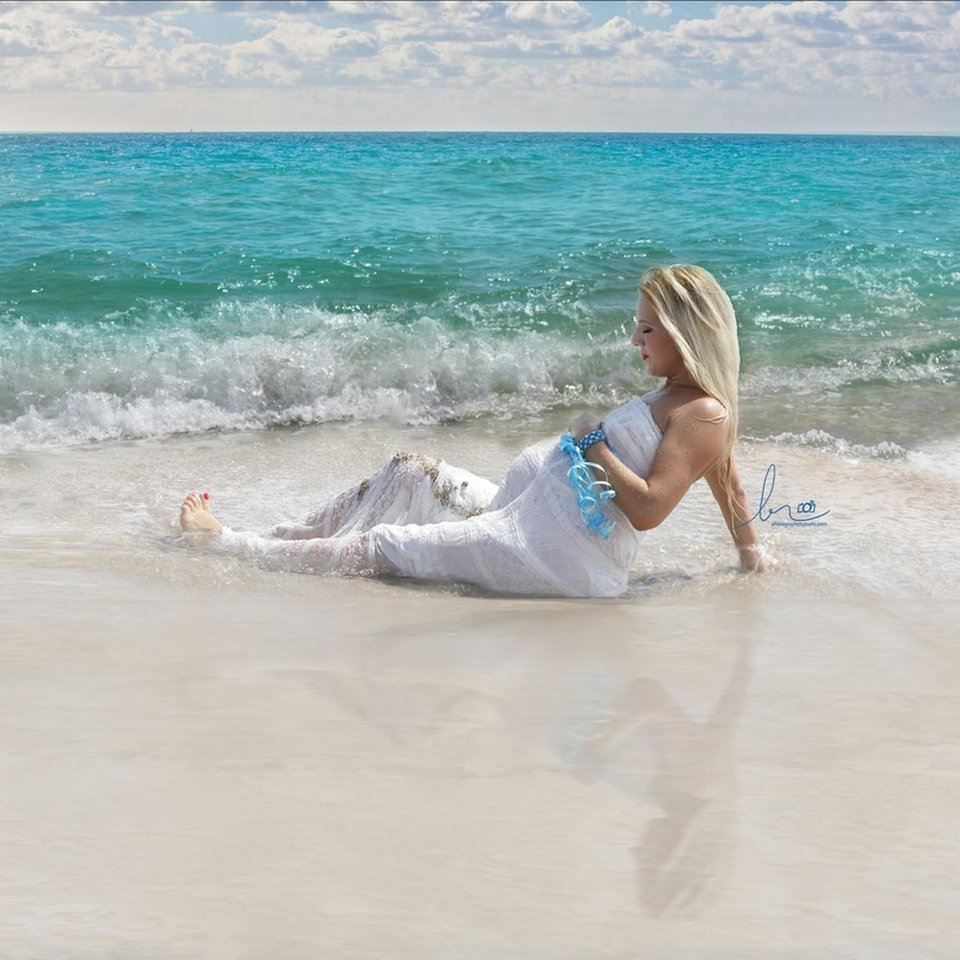 Beach Photography Maternity Session
